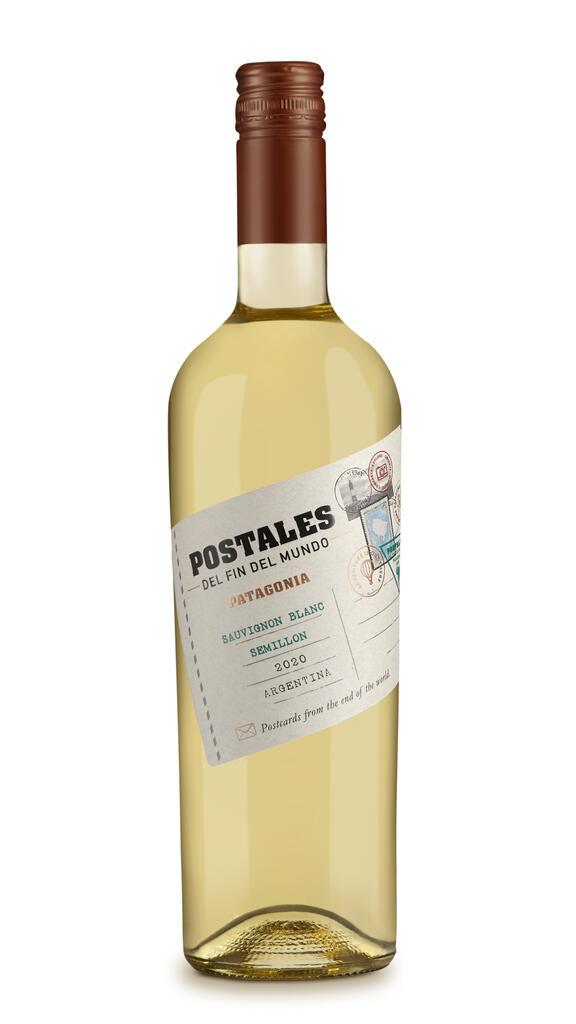 Postales Sauvignon Blanc Semillon Bottle