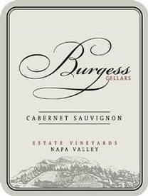 Burgess Cellars Cabernet Sauvignon Bottle Preview