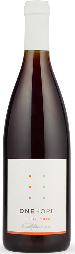 California Pinot Noir Bottle