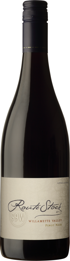 RouteStock Pinot Noir Route 99W Bottle Preview