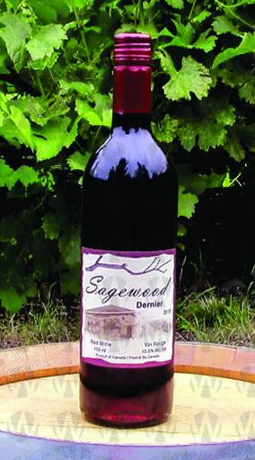 Sagewood Winery Dernier
