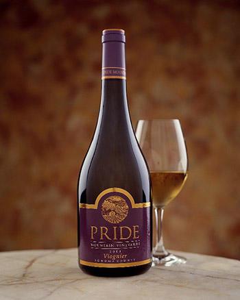 Pride Mountain Vineyards Viognier Bottle Preview