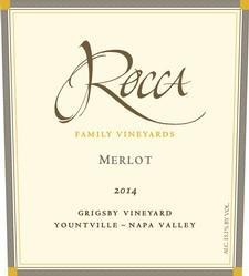Rocca Family Vineyards Merlot Bottle Preview