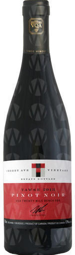 Tawse Winery Pinot Noir - Cherry Avenue
