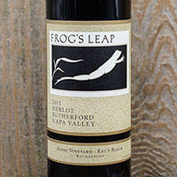 Frog's Leap Winery Merlot, Rossi Vineyard-Ray's Block Bottle Preview