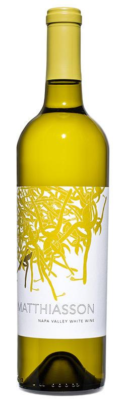 Napa Valley White Wine Bottle