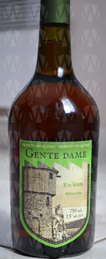Vignoble Clos Lambert Gente Dame Vin médiéval - Blanc