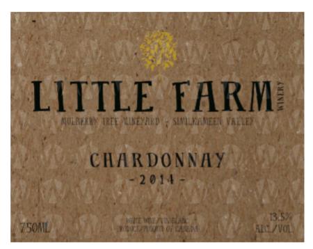 Little Farm Winery Chardonnay