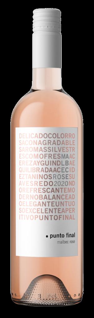 Bodega Renacer Punto Final Malbec Rosé Bottle Preview