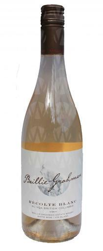 Baillie-Grohman Estate Winery Récolte Blanche