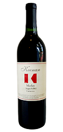 Merlot Napa Valley, Carneros Bottle