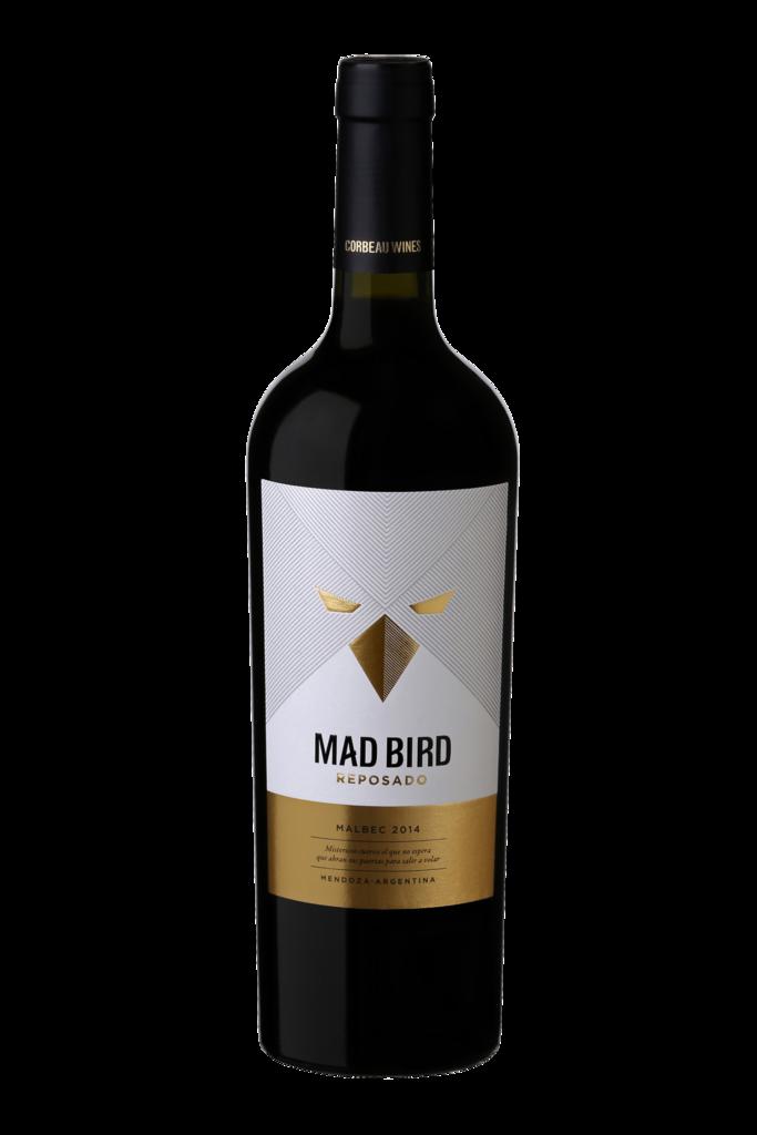 Corbeau Wines Mad Bird Malbec Reposado Bottle Preview