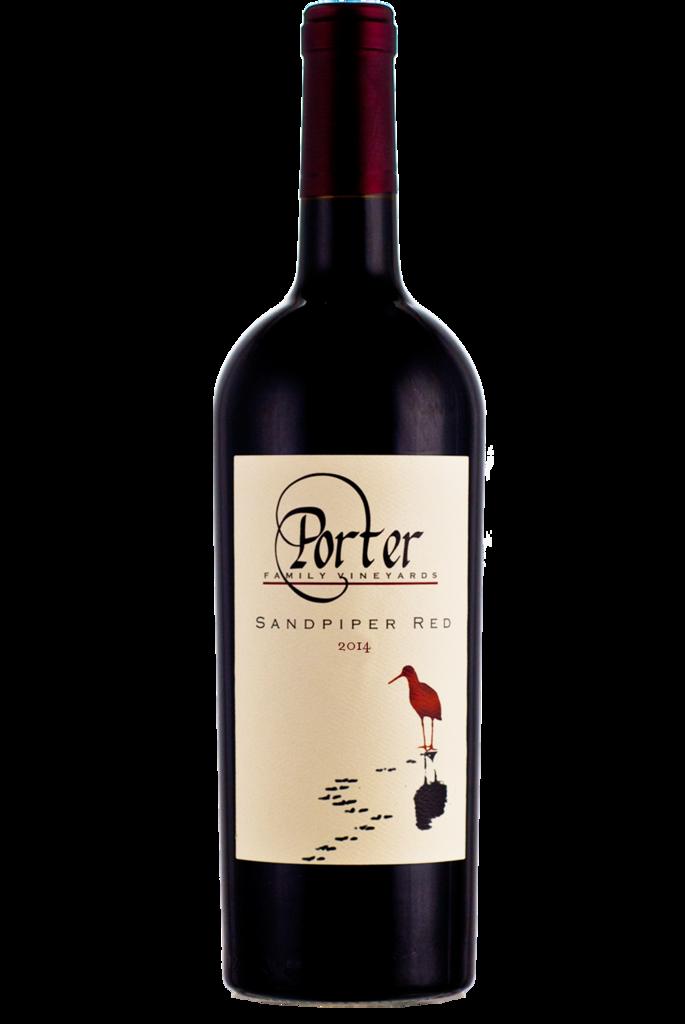 Porter Family Vineyards Sandpiper Red Bottle Preview