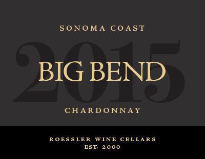 Roger Roessler Wines Big Bend Chardonnay Bottle Preview