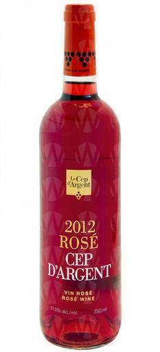Vignoble Le Cep d'Argent Le Rosé