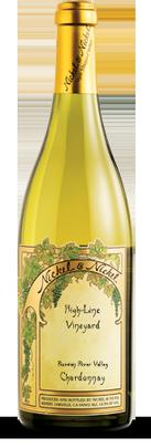 Bella Union Winery Nickel & Nickel High-Line Vineyard Chardonnay, Russian River Valley, Sonoma Bottle Preview