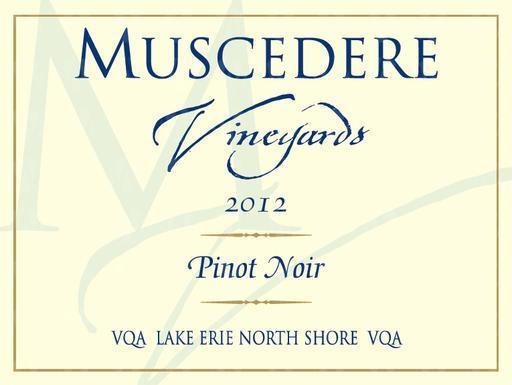 Muscedere Vineyards Pinot Noir