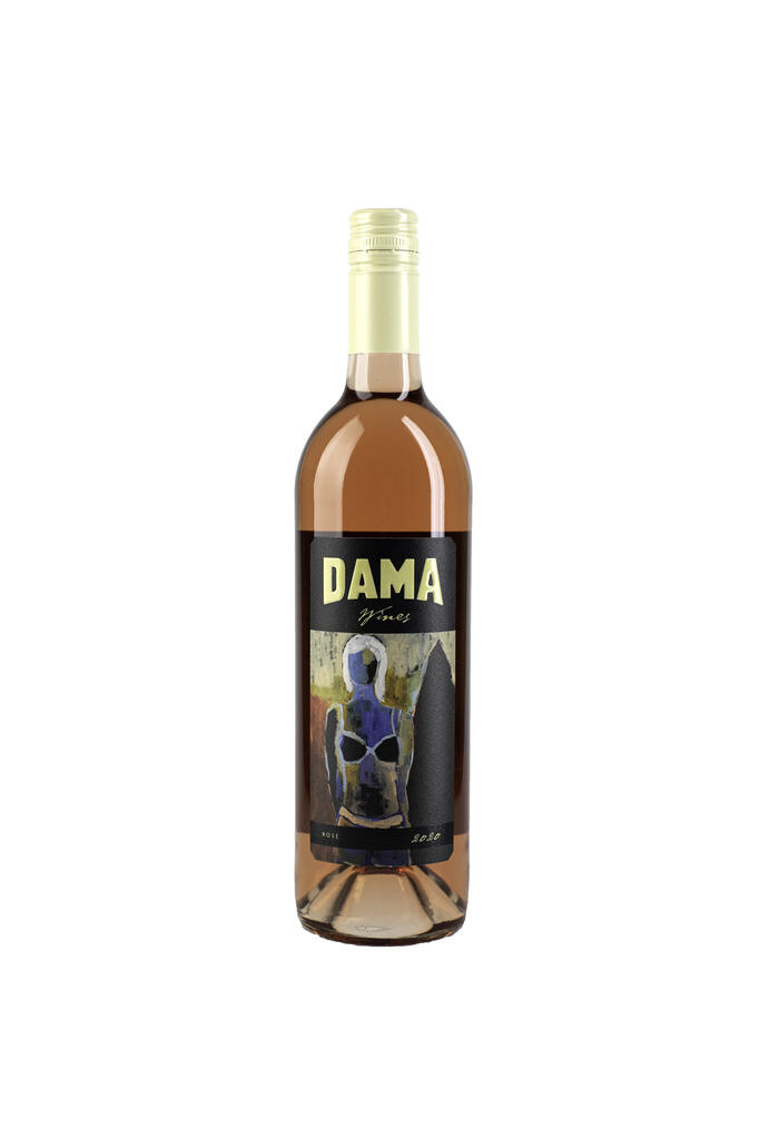 DAMA Wines Cab Franc Rose Bottle Preview