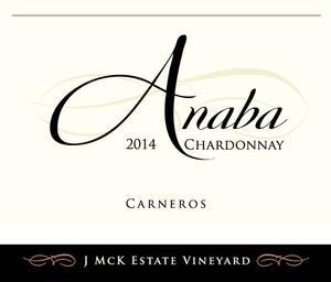 Anaba Wines Chardonnay, J McK Estate Bottle Preview