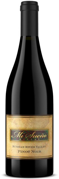 Mi Sueño Winery Russian River Pinot Noir Bottle Preview