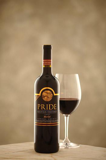 Pride Mountain Vineyards Vintner Select Merlot Bottle Preview