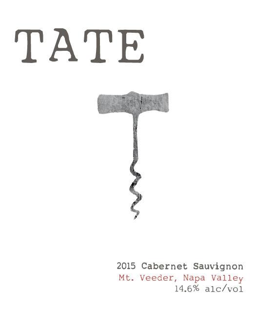 Tate Wines MT. VEEDER CABERNET SAUVIGNON Bottle Preview