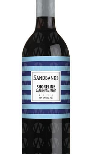 Sandbanks Estate Winery Shoreline Red