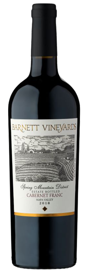 Barnett Vineyards Cabernet Franc, Spring Mountain District Bottle Preview