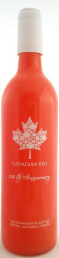 St. Hubertus & Oak Bay Estate Winery Canadian Red 150 th Anniversary Edition