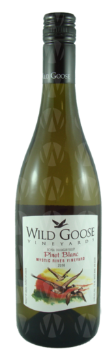 Wild Goose Vineyards Mystic River Pinot Blanc