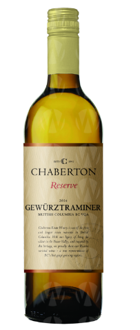 Chaberton Estate Winery Reserve Gewurztraminer