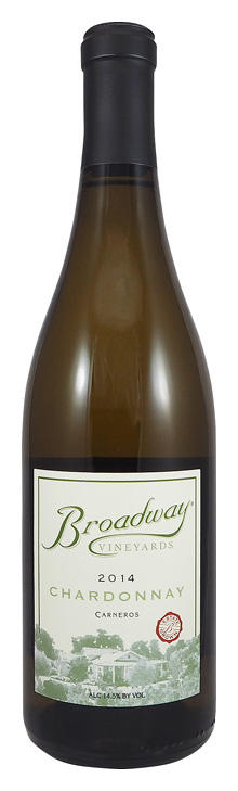 Broadway Vineyards Chardonnay Bottle Preview