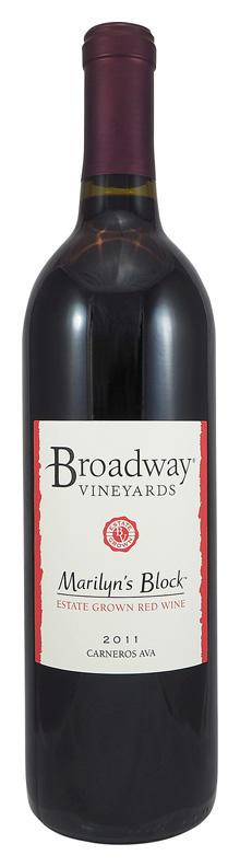Broadway Vineyards Marilyn's Block Bottle Preview