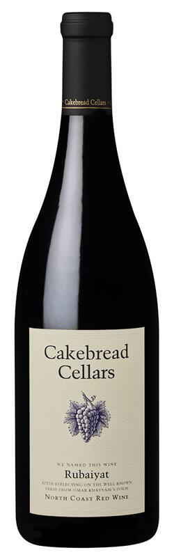 Cakebread Cellars Rubaiyat North Coast Bottle Preview
