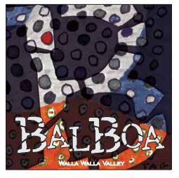 Balboa Winery Red Wine Bottle Preview