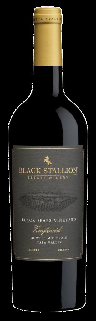 Black Stallion Estate Winery LIMITED RELEASE BLACK SEARS HOWELL MOUNTAIN ZINFANDEL Bottle Preview