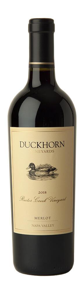 Duckhorn Vineyards Napa Valley Merlot Rector Creek Vineyard Bottle Preview