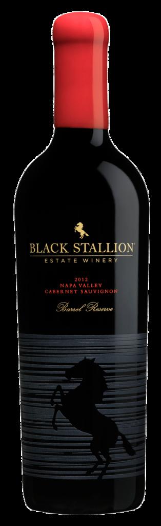Black Stallion Estate Winery BARREL RESERVE CABERNET SAUVIGNON Bottle Preview