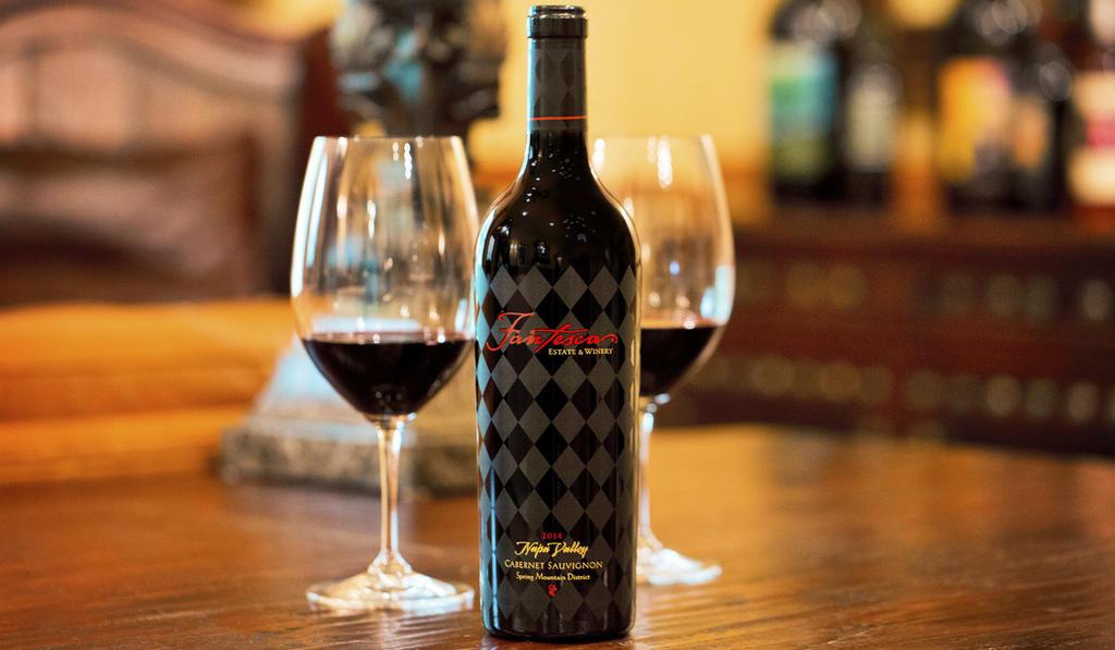 Fantesca Estate & Winery Fantesca Estate Cabernet Sauvignon Bottle Preview