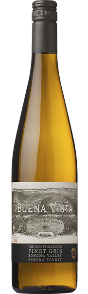 Buena Vista Winery Count's Selection Pinot Gris Bottle Preview