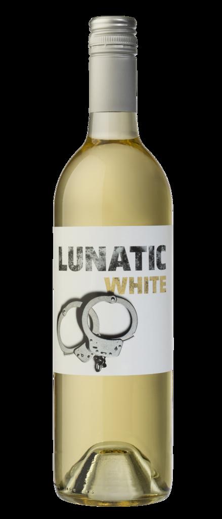 Lunatic White Wine Bottle
