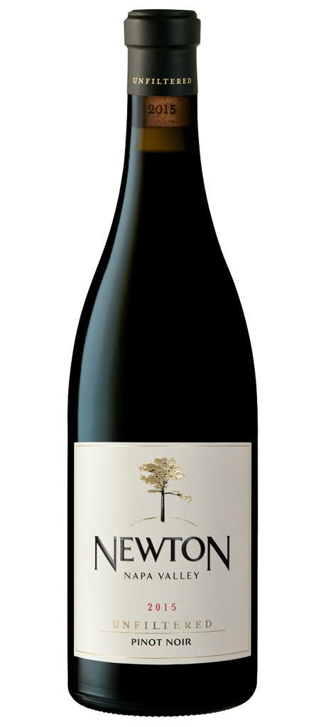 Unfiltered Pinot Noir Bottle