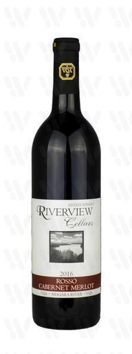 Riverview Cellars Estate Winery Rosso (Cabernet – Merlot)
