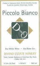 Divino Estate Winery Piccolo Bianco