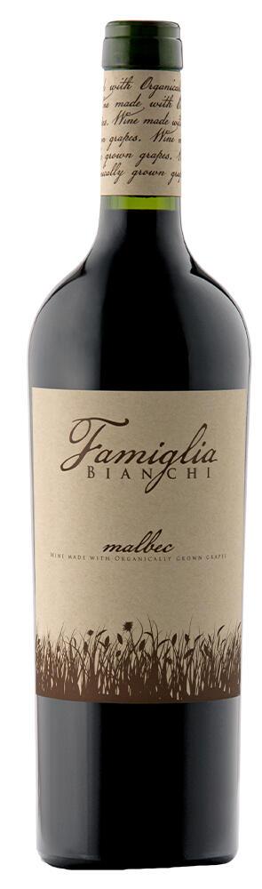 FAMIGLIA BIANCHI ORGANIC Malbec Bottle