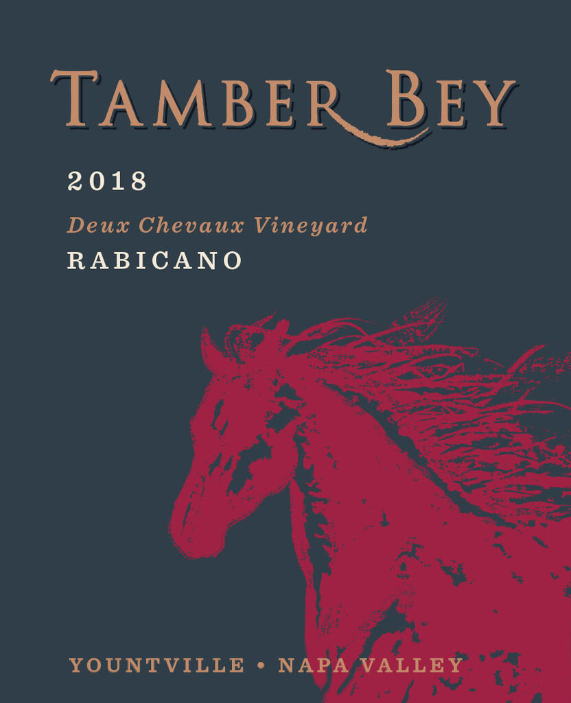 Tamber Bey Vineyards Deux Chevaux Vineyard Rabicano, Bordeaux-style blend Bottle Preview