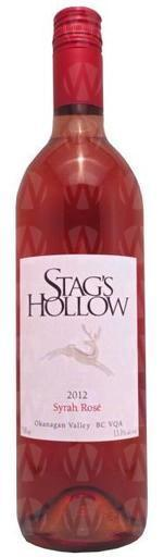 Stag's Hollow Winery & Vineyard Syrah Rose