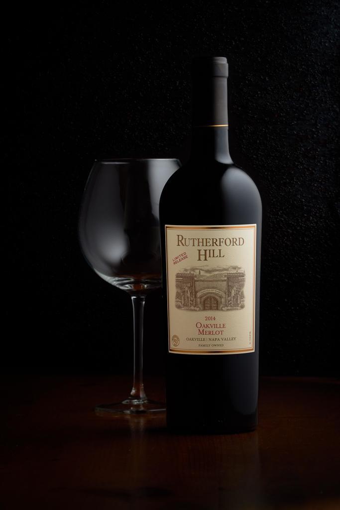 Rutherford Hill Winery Oakville Merlot Bottle Preview