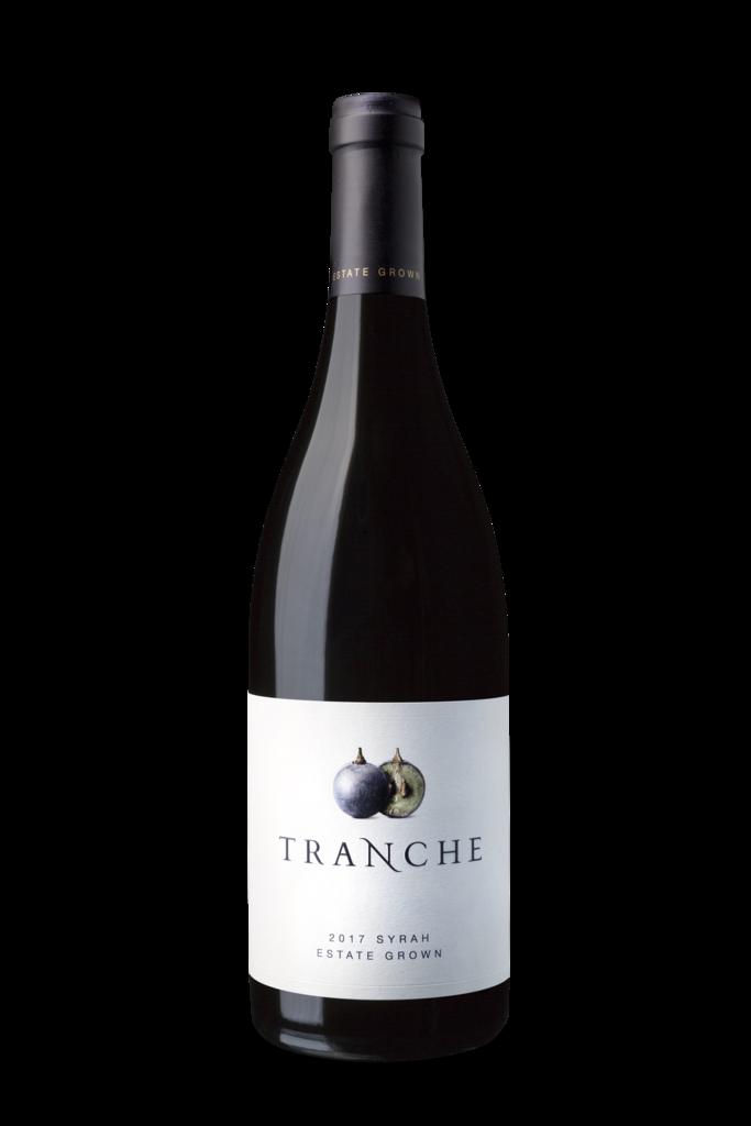 Tranche 2017 Syrah Bottle Preview