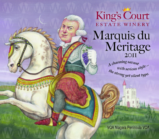 King's Court Estate Winery Marquis du Meritage